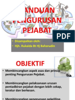 Panduan Pengurusan Pejabat