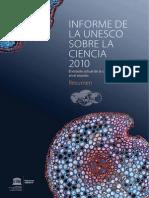 Informe de La UNESCO Sobre La Ciencia 2010