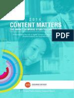 Content Matters