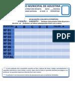 CMA 2014 - EDUCAÇÃO FISICA  4º ANO  B