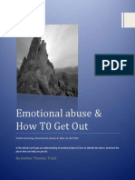 Emotional Abuse & How to Get Out