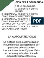 Automatizacion de La Soldadura