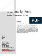 Bearings for Fans