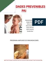 Enfermedades Prevenibles PAI