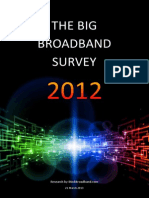 UK Broadband Survey 2012