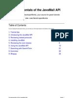 Fundamentals of the JavaMail API