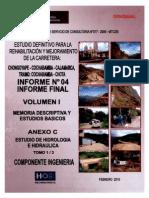 Estudio Hidrologico Cochabamba