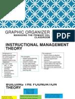 Classroom management graphic organizer