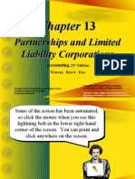 Partnerships and Limited Liability Corporations