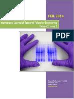 IJRFE Journal Volume 2 Issue 2