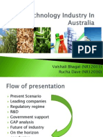Biotechnology Industry in Australia FINAL