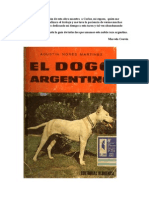 El Dogo Argentino by Agustin Nores
