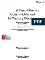 Technical Deep-Dive in a Column-Oriented in-Memory Database
