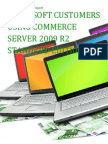 Microsoft Customers using Commerce Server 2009 R2 Standard Edition - Sales Intelligence™ Report