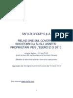 20140305 - Relazione Corporate Governance Esercizio 2013_cv_ita_da Pubbl...