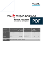 NTU H3 Module Synopsis 2014 (for Students)