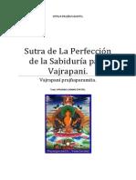 Sutra de La Perfección de la Sabiduría para Vajrapani