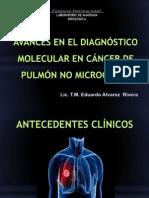AVANCES MOLECULARES EN CANCER DE PULMÓN