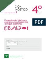 Evaluacion de diagnostico 4º lengua 2010-2011