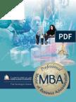 HCT Professional MBA Brochure