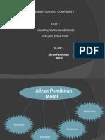 Aliran Pemikiran Moral Mk