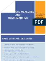 Performance Measures & Benchmarking Tqm