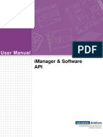 iManager & Software API User Manual Ed.2