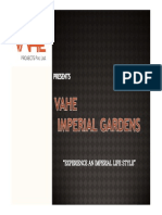 Vahe Imperial Gardens Presentation