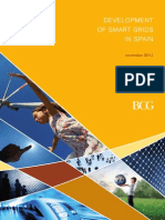 Development of the Smart Grids in Spain