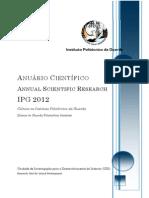 Anuario Cientifico IPG 2012