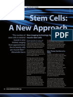 Stem Cells Anew Approach