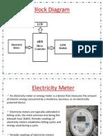 GSM Electricity Meter