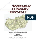Cartography in Hungary 2007-2011