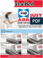 The Brand New Sealy Bed Range