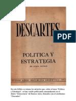 Descartes (seudonimo) - Politica y Estrategia