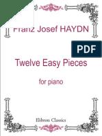 Haydn - Doce Piezas Faciles Para Piano