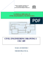 Cec 209- Civil Engineering Drawing i