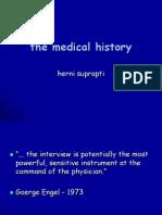 3 Medical History'