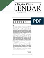 Letters Mann
