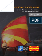 Annual National Programme of the Republic of Macedonia for NATO Membership 2013-2014