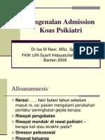 Pengenalan Admission.ppt