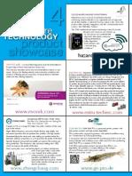International Aquafeed product showcase 2014