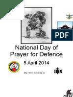 National Defence Prayer Booklet (Australia)