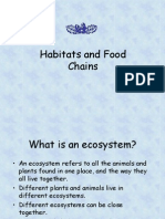 Habitats and Foodchains