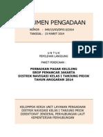 Dokumen Pengadaan Perbaikan Pagar Keliling Srop Pemancar Jakarta