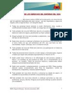 Declaración de los derechos del enfermo de SIDA