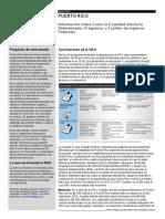 Resume Ejecutivo en Español del Informe del GAO