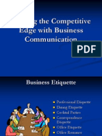 Business Communication Gestures
