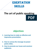 Presentation Skills Notes