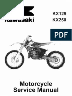 54.5mm Piston Spark Plug for Kawasaki KX125 1993